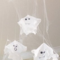 Wet wipe ghosts