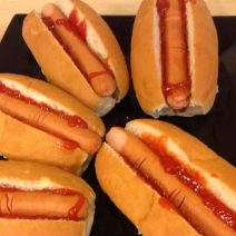 Hot dog fingers