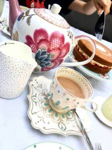 Use those fancy cups and saucers and special teapots more. Enjoy an afternoon tea in the garden and make the most of the September sunshine