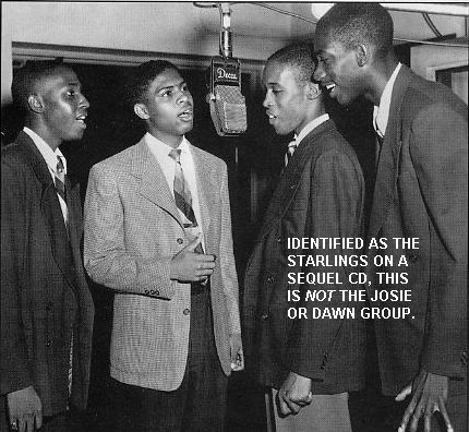Image result for THE STARLINGS R&B GROUP