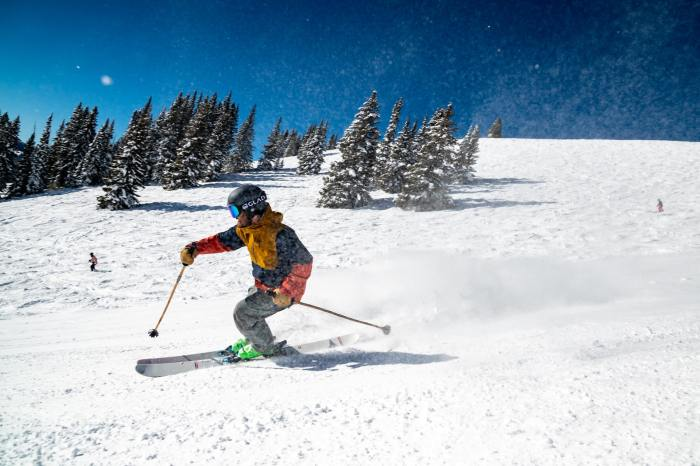 Skiing Course Manali