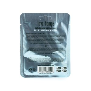 Hemp Blue Light Face Mask back