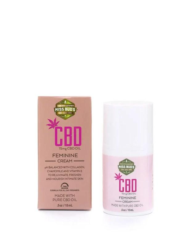 Miss Bud's CBD Feminine Cream