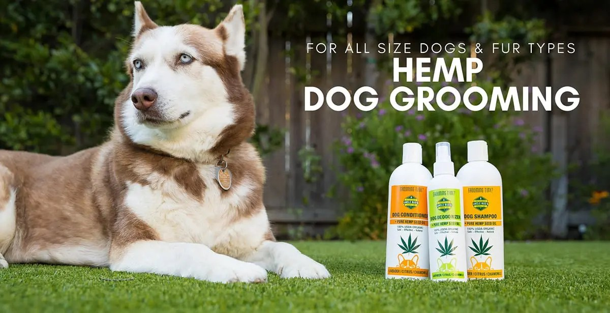 Hemp and CBD Products for your pets by Uncle Bud's