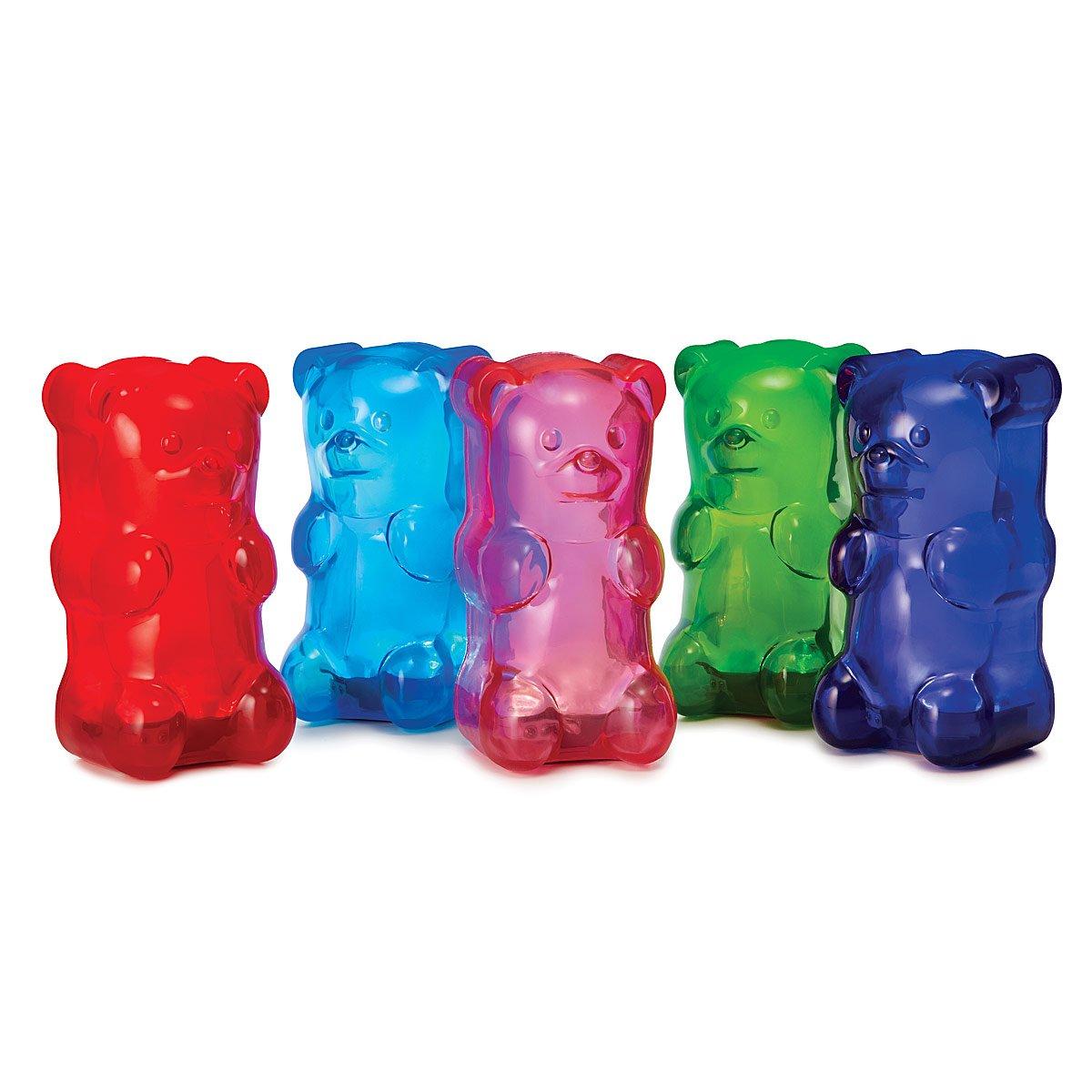Squishy Gummy Bear Light Gummi Bear Lamp Nightlight Uncommon Goods