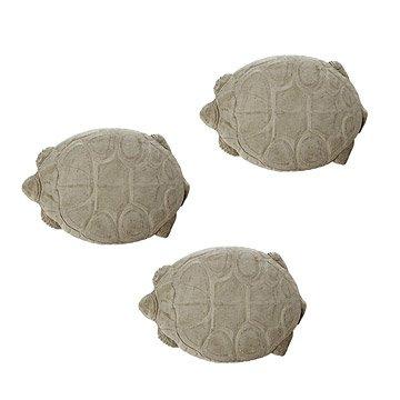 Vintage Tortoise Stepping Stones - Set of 3