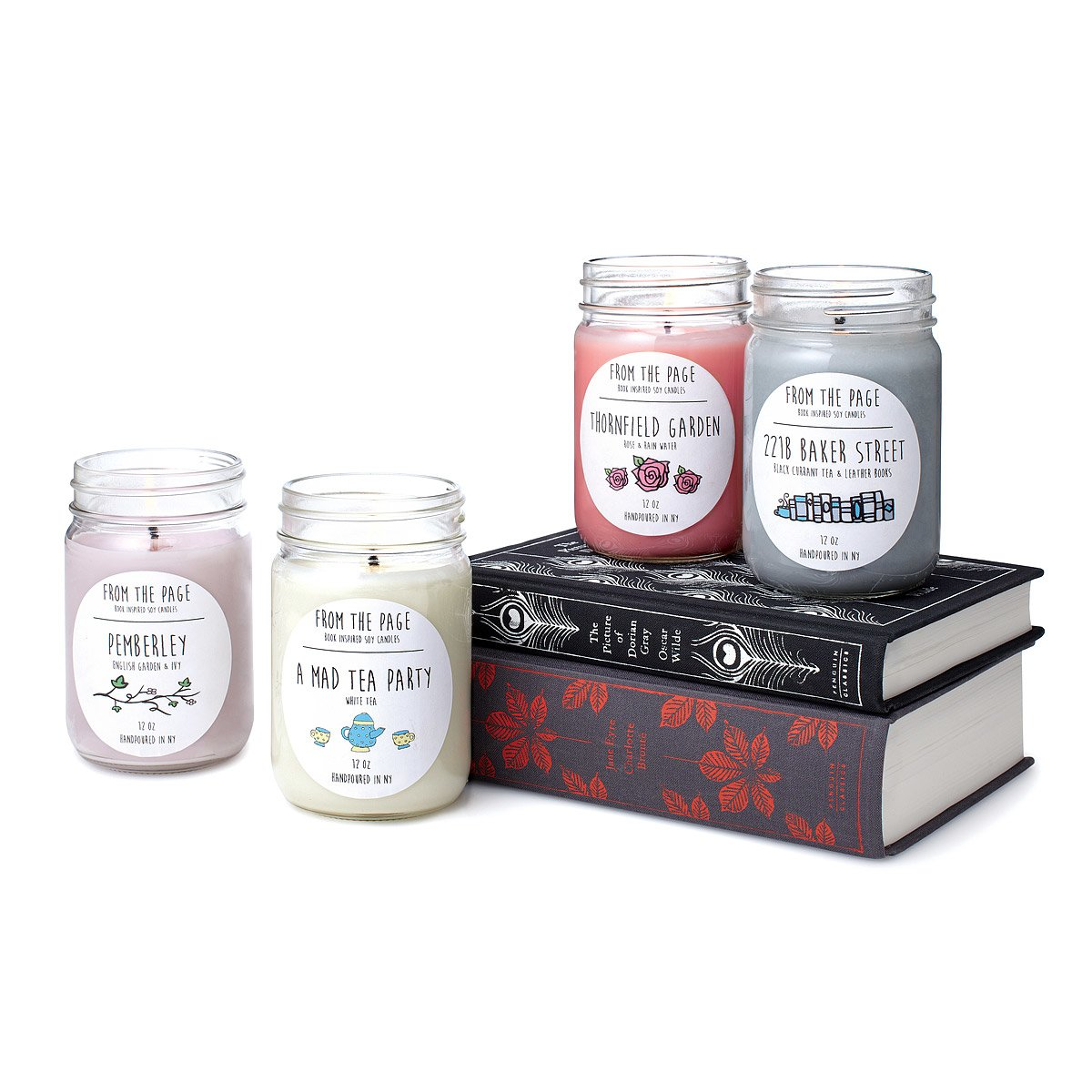 Image result for literary candles