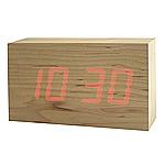 Wood LED Clock