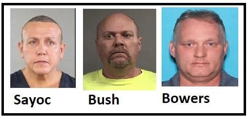 Faces of hate, Saoc, Bush, Bowers