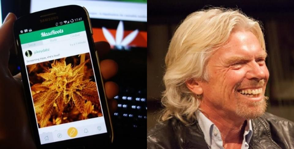 How One Millennial Started The 'Facebook Of Cannabis' And Got Invited To Richard Branson's Island