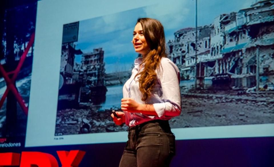 Why This 29-Year-Old Left Her Desk Job To Prosecute War Crimes With Technology