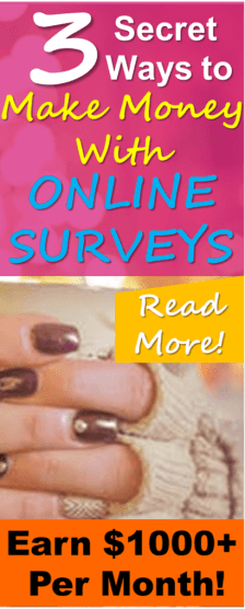 Learn how to make the most money possible from paid surveys! This simple guide will teach you how to save time and earn MORE money from online paid surveys! Thanks for posting these excellent online survey strategys that have helped me make more money online!