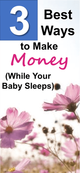 Thanks for posting these awesome ways to work from home! Love all these ideas to make money online while your baby sleeps. All you need is a laptop and some motivation to make an extra $1000 per month online.