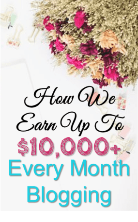 How We Earn Up To $10,000+ Every Month Blogging! We publish blog income reports that explain how we make money online with our blogs. This is a must read if you want to make money blogging.