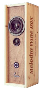Cassa bluetooth Melodia Wine Box