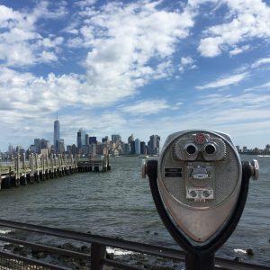 Vue de Liberty Island