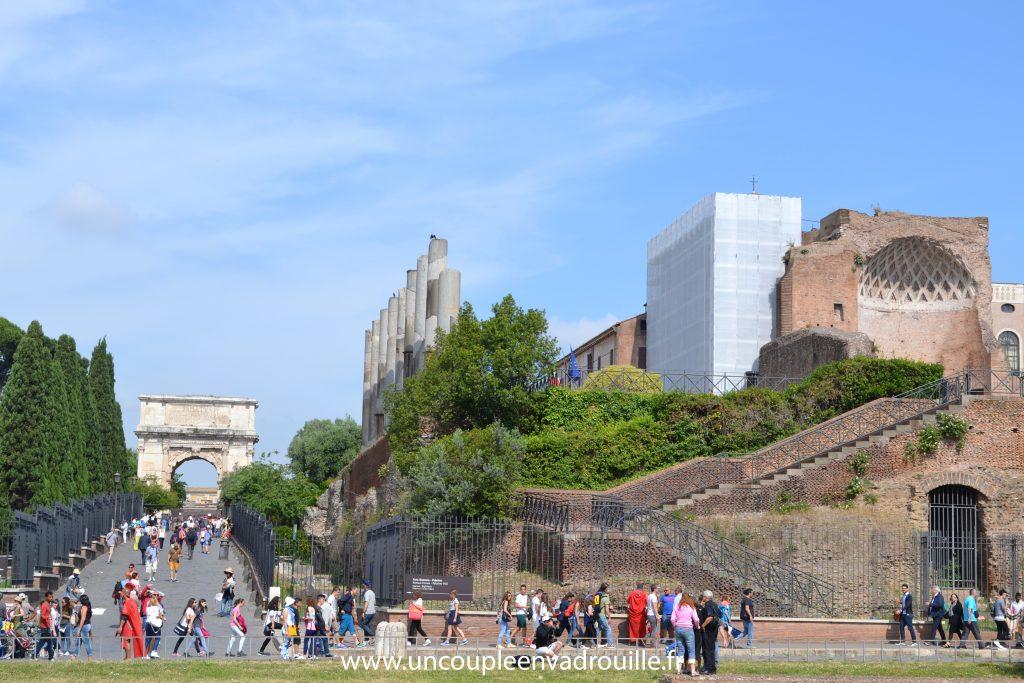 Le Mont Palatin & le forum Romain