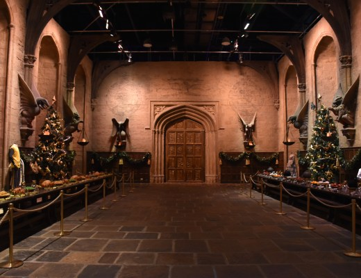 grande salle harry potter studios londres