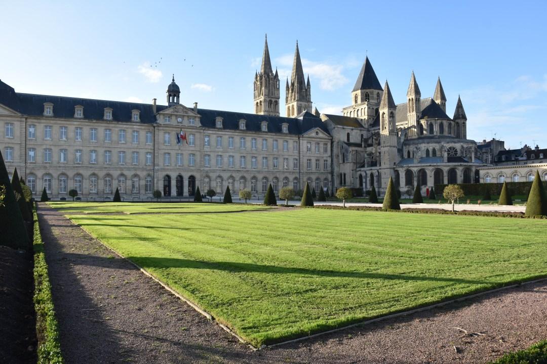 L'Abbaye aux Hommes à Caen, Normandie