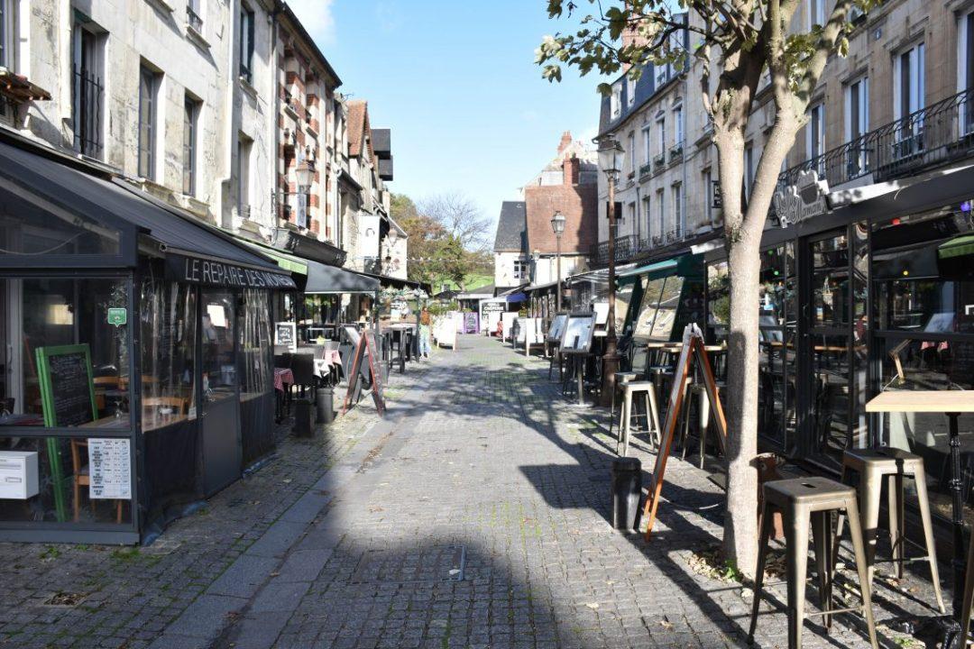le vaugueux quartier médiéval de caen