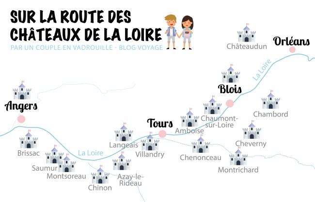 Carte des chateaux de la Loire_uncoupleenvadrouille