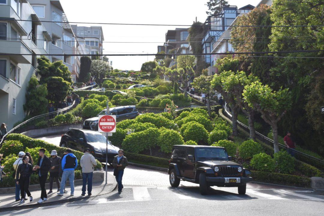 San Francisco rue