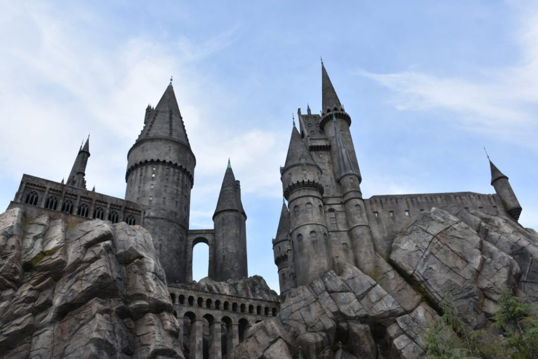 château d'harry potter studios universal hollywood