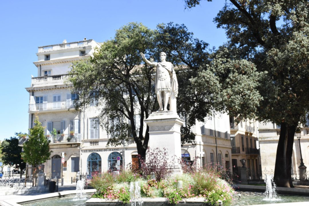 Square Antonin à Nimes