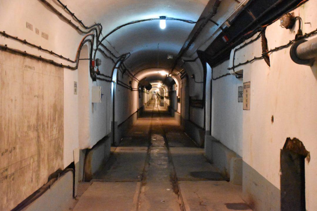 Les 4,5 km de galeries souterraines de l'Ouvrage du Four à chaux à Lombach