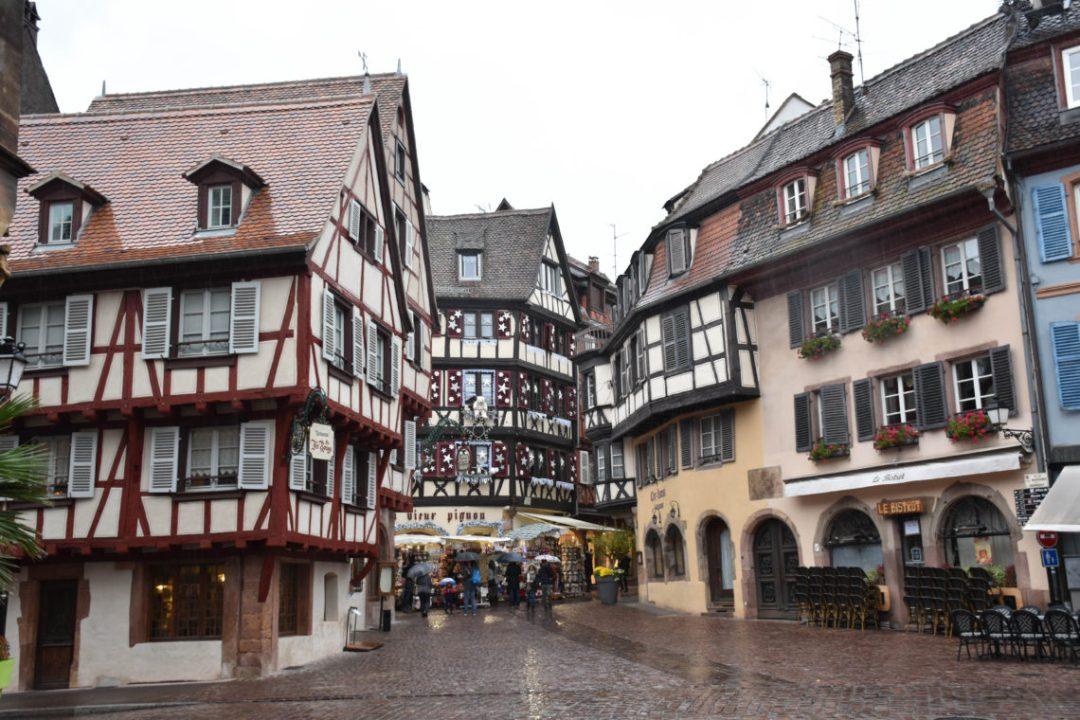 Centre ville de Colmar en Alsace