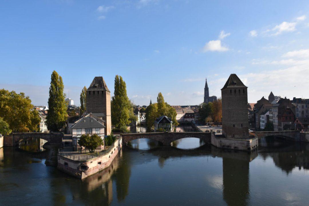 Les ponts couverts de Strasbourg en Alsace