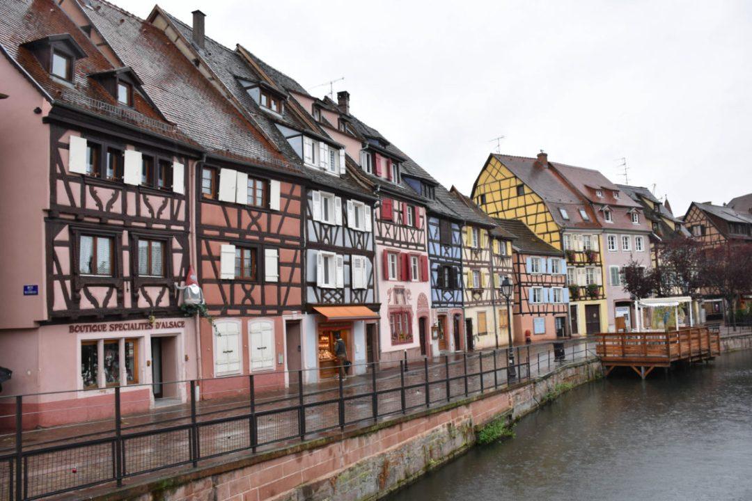 Maisons à colombages colorées de Colmar en Alsace