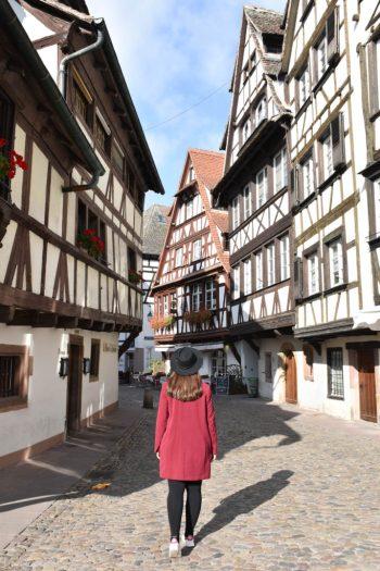 Visite du quartier de la Petite France à Strasbourg