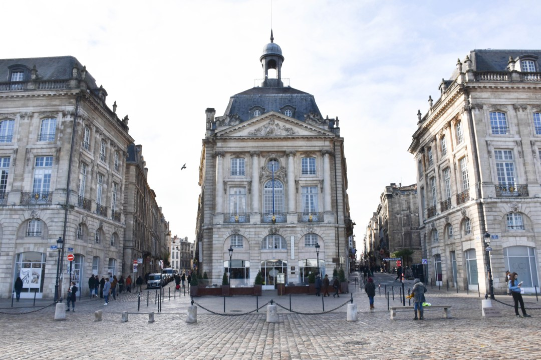 Place de la bourse de boRDEAUX_