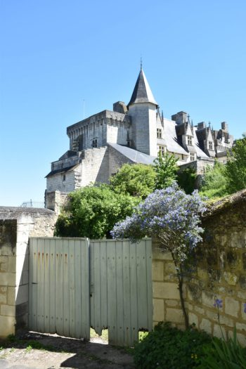 Chateau de Montsoreau vue de l'extérieur