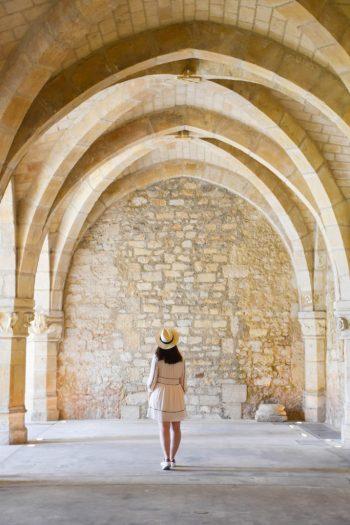 Arches Palais du Tau à Reims