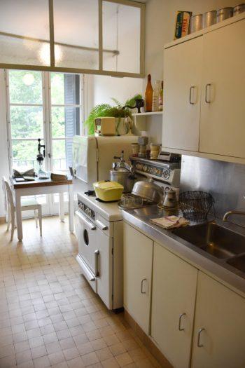 Cuisine appartement témoin du Havre