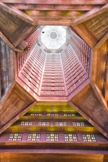 Intérieur de l'Eglise Saint Joseph du havre