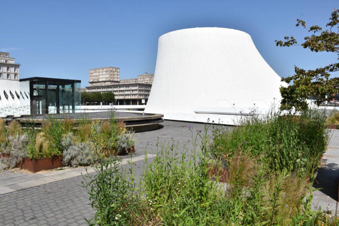 Le volcan du Havre et son jardin