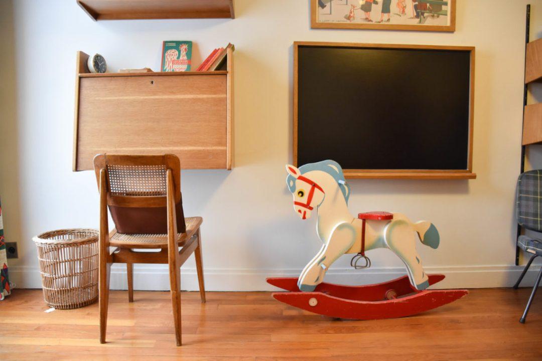 Objets appartement témoin au Havre_ mobilier de l'époque