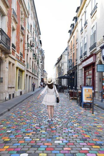 Rue du Tambour à Reims