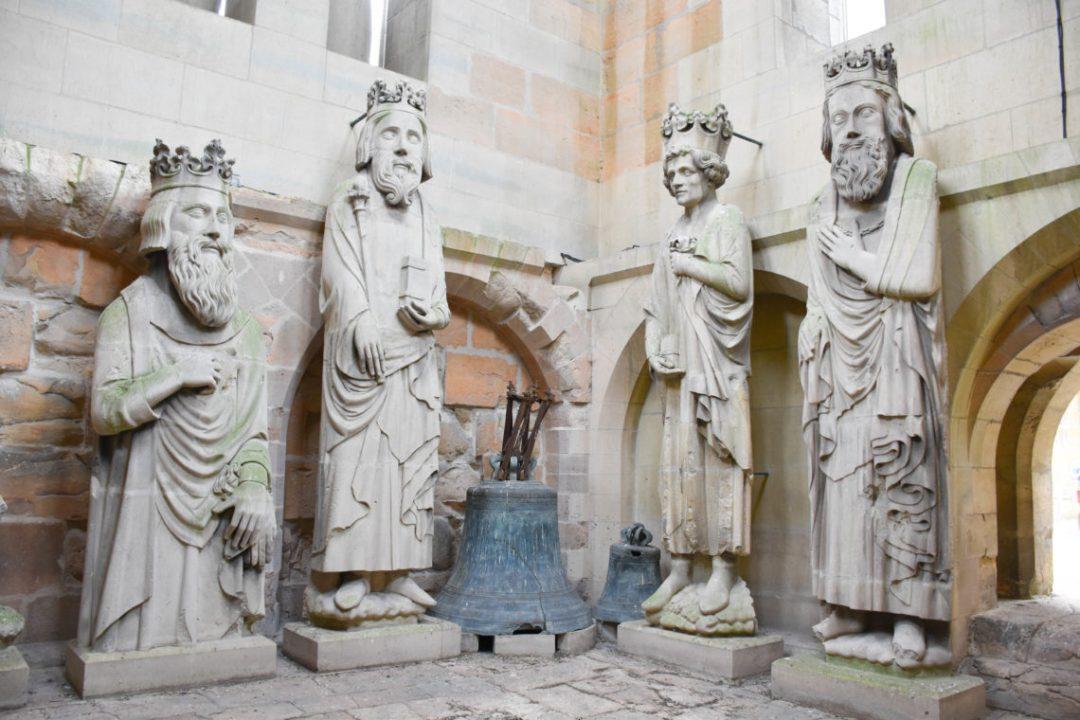 Visite de la cathédrale de notre dame de reims