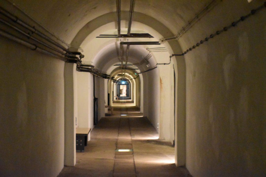 Jersey War Tunnels à l'intérieur