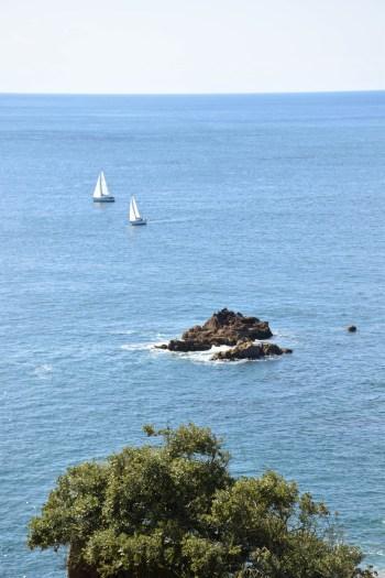Vue depuis Portelet Bay