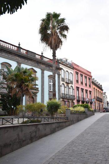 Maisons colorées de Las Palmas de Gran Canaria