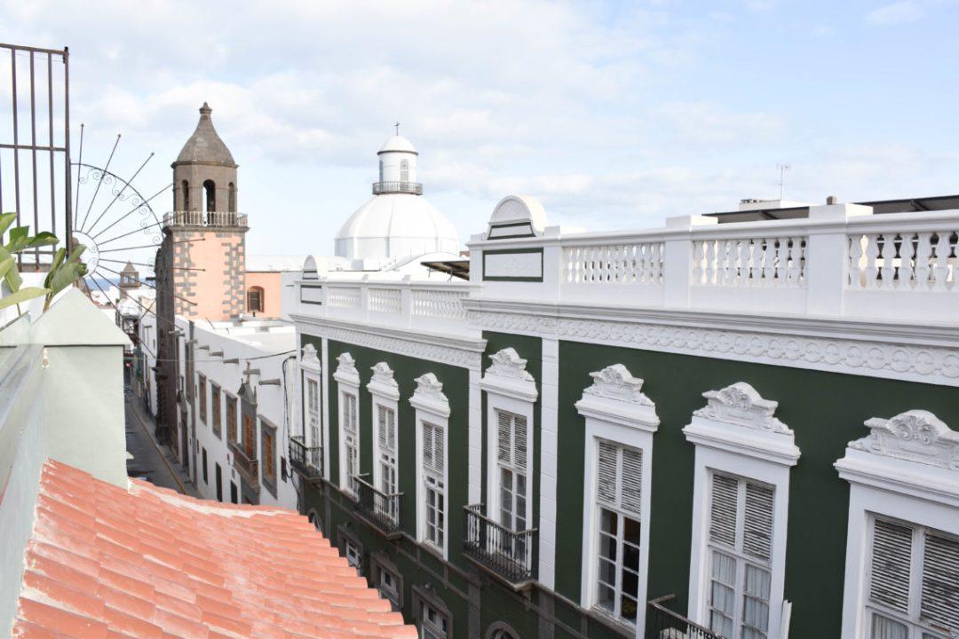 Vue sur les toits de Las Palmas de Gran Canaria