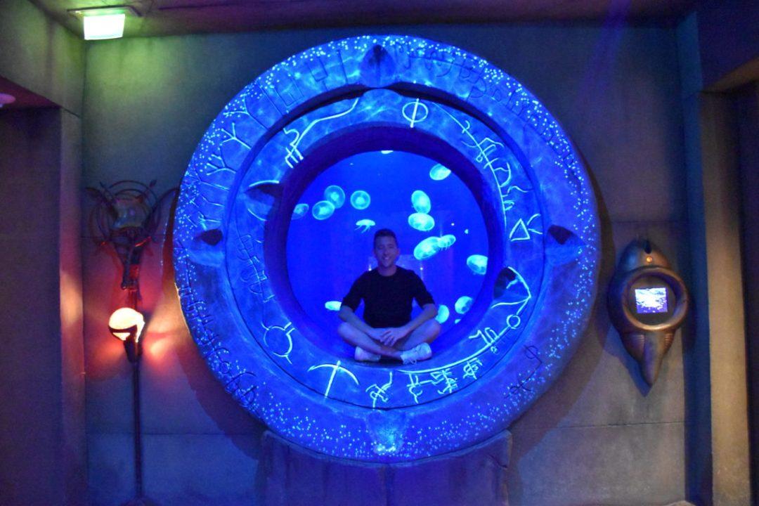 Aquarium de Dubai dans l'hotel Atlantis