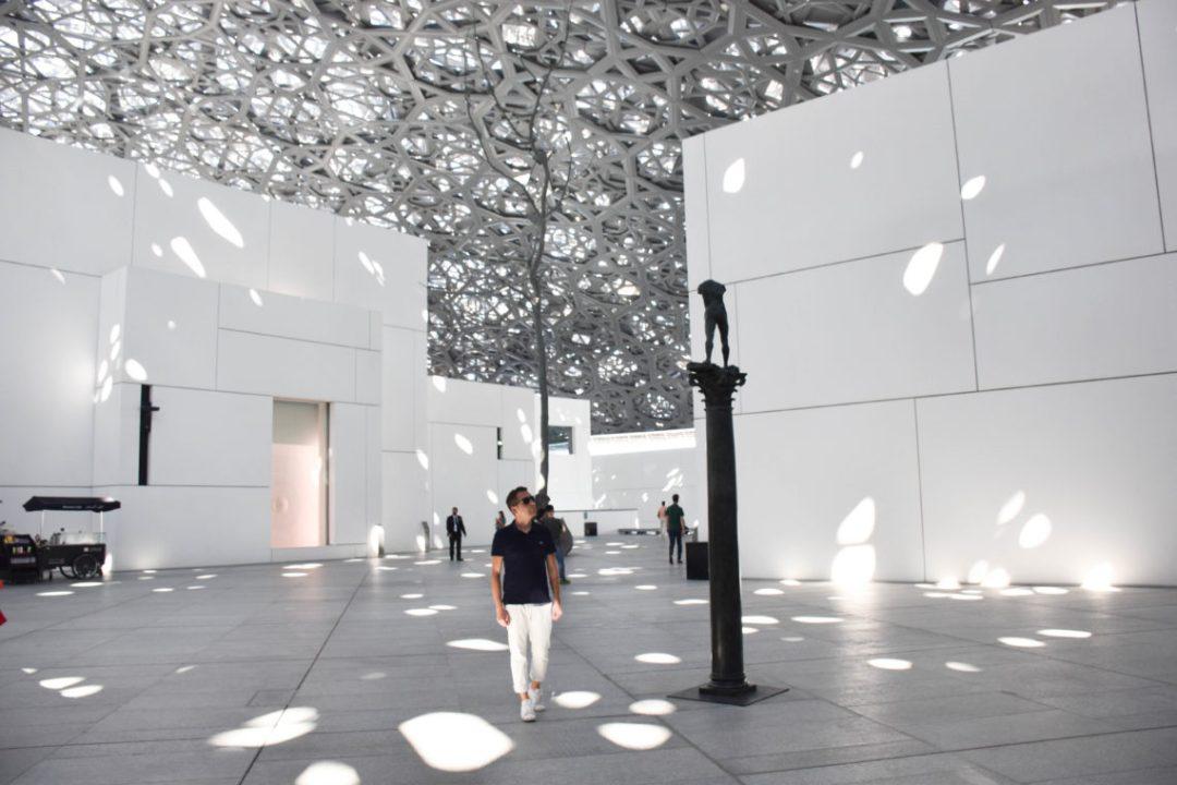 Architecture Musée du Louvre d'Abu Dhabi
