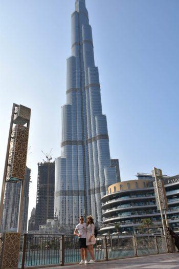 Burj Khalifa – la plus haute tour du monde à Dubai