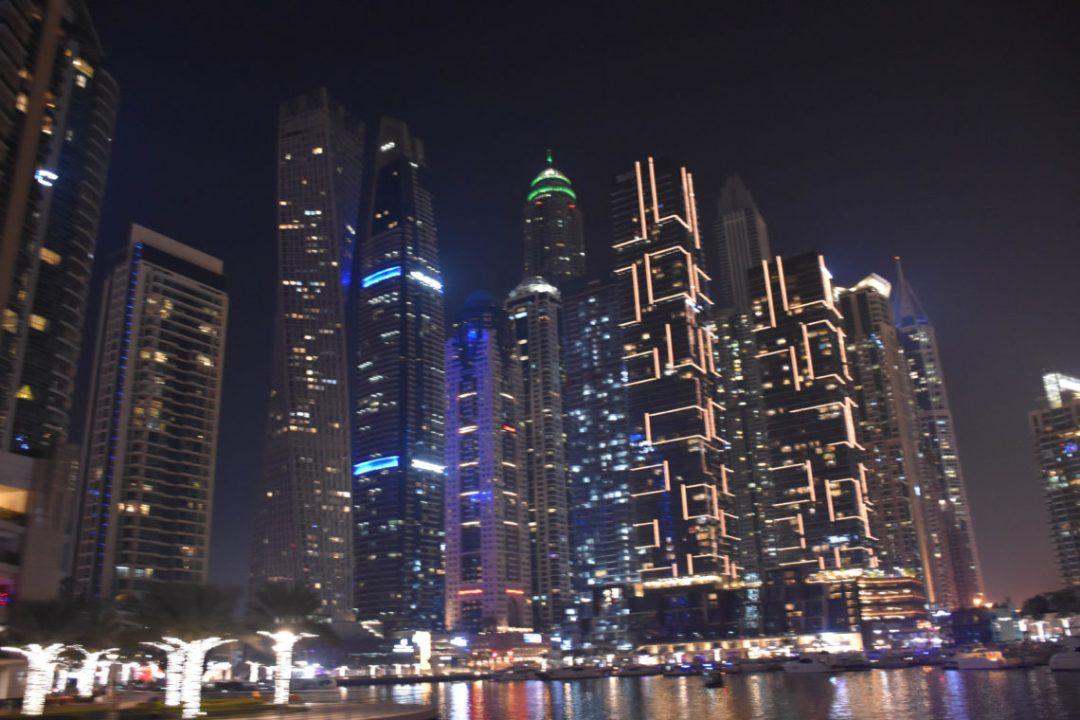 Croisière sur le Dubai Marina